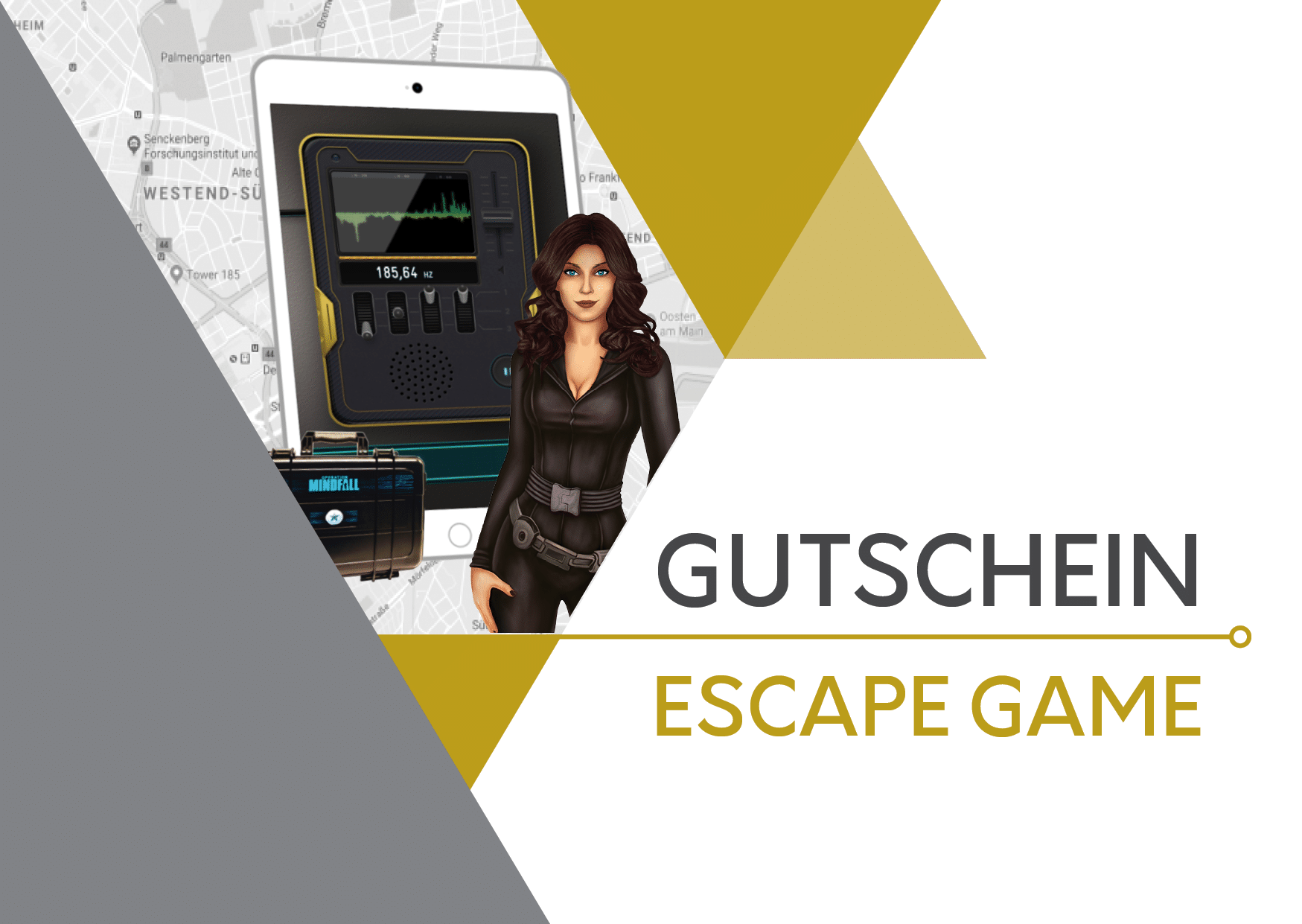 Gutschein Escape Game Outdoor FrankfurtGutschein Escape Game Outdoor Frankfurt