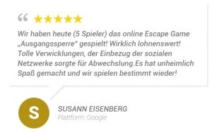 online escape room bewertung s e
